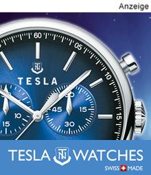Original Tesla Uhren